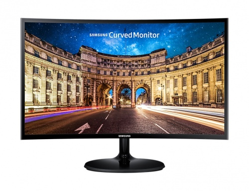 Monitor Curvo Samsung LC24F390FHL LED 23.5'', Full HD, Widescreen, FreeSync, HDMI, Negro