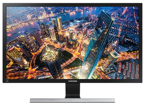 Monitor Samsung U28E590D LED 28'', 4K Ultra HD, Widescreen, HDMI, Negro/Plata