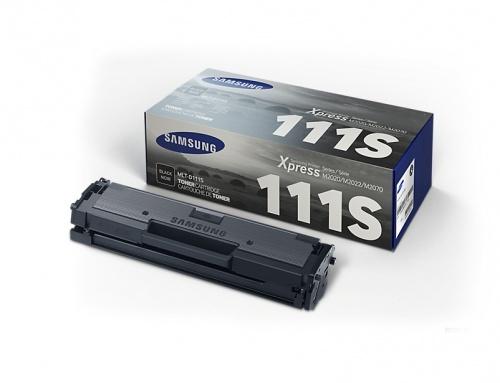 Tóner Samsung MLT-D111S Negro, 1000 Páginas