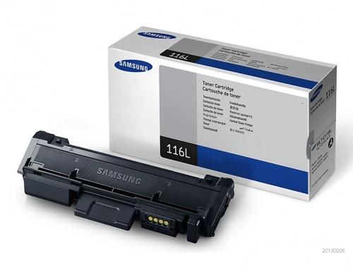 Tóner Samsung MLT-D116L Negro, 3000 Páginas