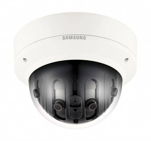 Samsung Cámara IP Domo para Exteriores PNM-9020V, Alámbrico, 4096 x 1800 Pixeles, Día/Noche