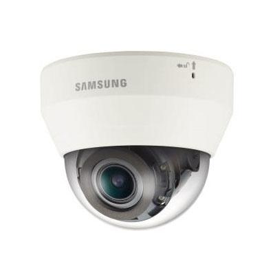 Samsung Cámara IP Domo IR para Interiores QND-7080R,  Alámbrico, 2720 x 1536 Pixeles, Día/Noche