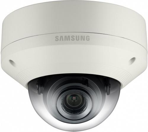 Samsung Cámara IP Domo 5MP para Interiores/Exteriores SNV-8080, Alámbrico, 2592 x 1944 Pixeles, Día/Noche
