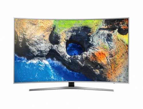 Samsung Smart TV Curva LED MU6500 49'', 4K Ultra HD, Widescreen, Plata
