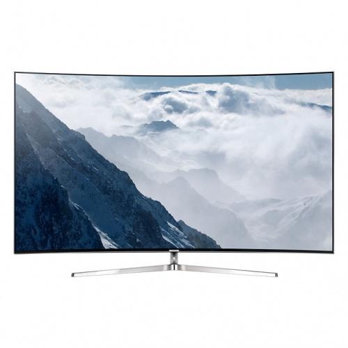 Samsung Smart TV Curve LED UN55KS9000F 55'', 4K Ultra HD, Widescreen, Plata