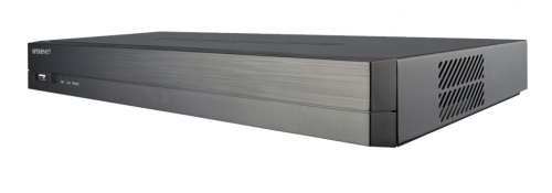 Samsung NVR de 4 Canales XRN-410S para 1 Disco Duro, max. 6TB, 2x USB 2.0, 1x RJ-45