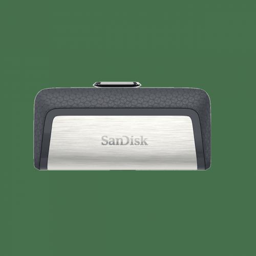 Memoria USB Sandisk Ultra Dual Drive, 256GB, USB-C 3.0, Negro