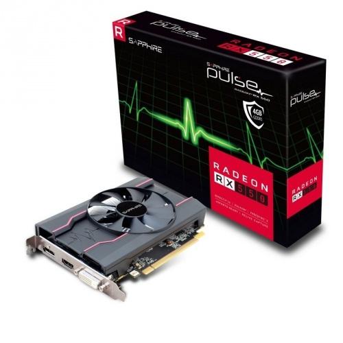 Tarjeta de Video Sapphire AMD Radeon RX 550 Pulse, 4GB 128-bit GDDR5, PCI Express x16 3.0