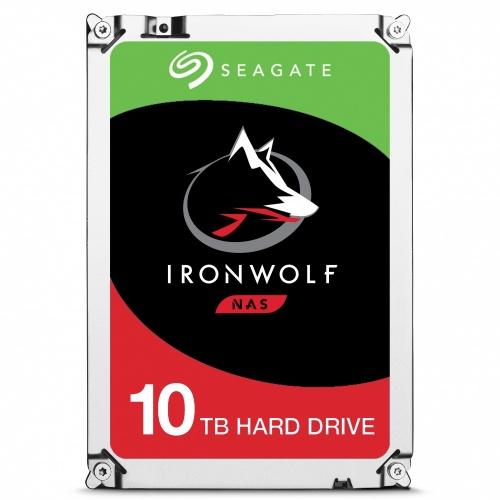 Disco Duro Interno Seagate IronWolf 3.5'', 10TB, SATA III, 6 Gbit/s, 7200RPM, 256MB Cache - para NAS de 1 a 8 Bahías