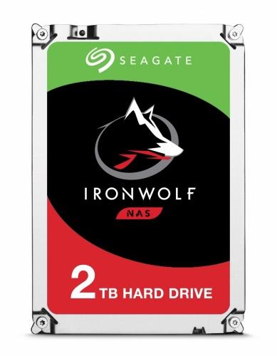 """Disco Duro Interno Seagate IronWolf 3.5"""", 2TB, SATA III, 6Gbit/s, 5900RPM, 64MB Cache - para NAS de 1 a 8 Bahías"""