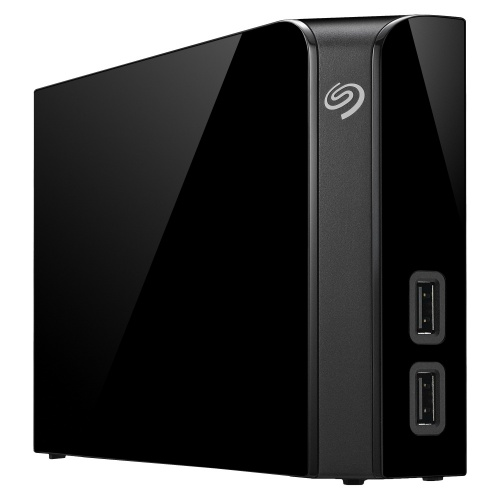 Disco Duro Externo Seagate Backup Plus Hub, 8TB, USB 3.0, Negro para Mac/PC
