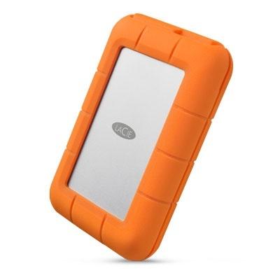 Disco Duro Externo LaCie Rugged RAID Pro, 4TB, USB-C, Naranja, A Prueba de Agua y Golpes - para Mac/PC ― ¡Compra y recibe $100 pesos de saldo para tu siguiente pedido!
