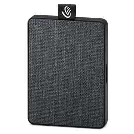 SSD Externo Seagate One Touch, 1TB, USB, Negro - para Mac/PC