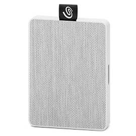 SSD Externo Seagate One Touch, 500GB, USB, Blanco - para Mac/PC