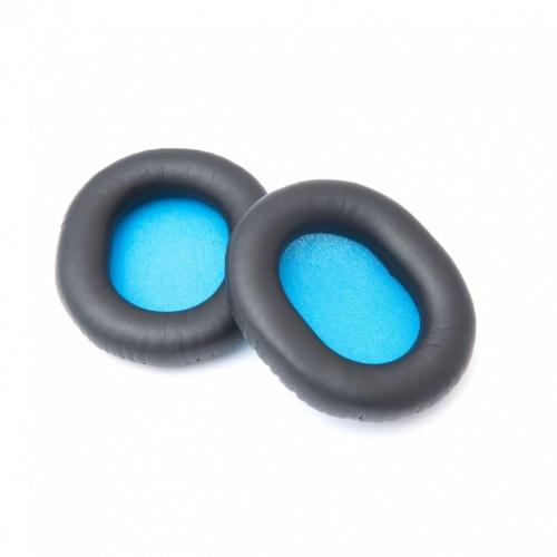 Sennheiser Almohadillas para HD6 Mix/HD7 DJ/HD8 DJ, 2 Piezas, Negro/Azul