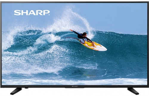 "Sharp Smart TV LED Aquos LC-50Q7000U 49.5"", 4K Ultra HD, Negro"
