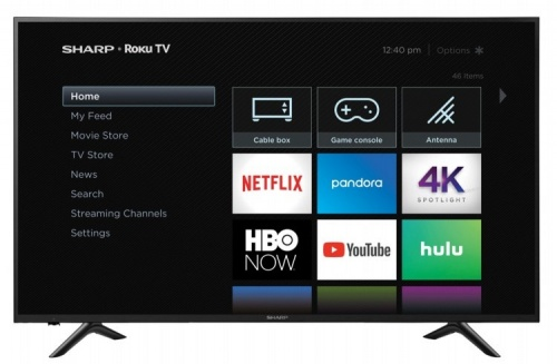 Sharp Smart TV LED Aquos 64.5