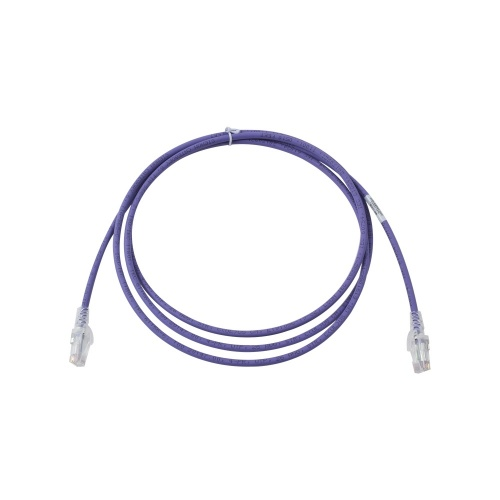Siemon Cable Patch Cat6 UTP RJ-45 Macho - RJ-45 Macho, 2.1 Metros, Violeta