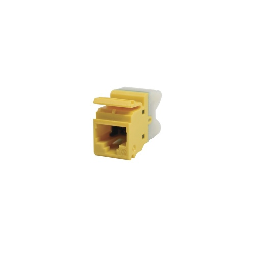 Siemon Jack de Red Cat6 UTP, RJ-45, Amarillo