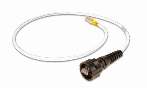 Siemon Cable Patch Cat6a FTP Blindado RJ-45 Macho - RJ-45 Macho, 9 Metros, Marfil