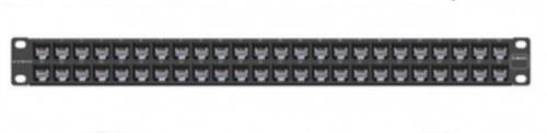 Siemon Panel de Parcheo 1U, 48 Puertos, Negro