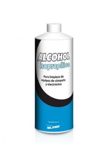 Silimex Alcohol Isopropilico para Limpieza de PC´s y Electrónica, 1 Litro