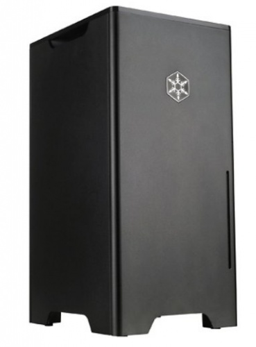 Gabinete SilverStone Fortress FT03-MINI, Mini-Tower, mini-iTX, USB 3.0, sin Fuente, Negro