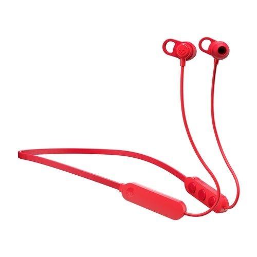 Skullcandy Audífonos Intrauriculares con Micrófono Jib+, Inalámbrico, Bluetooth, Rojo
