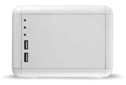 Regulador Smartbitt para Apple SBAVRMAC, 1500VA, 4 Contactos, Blanco