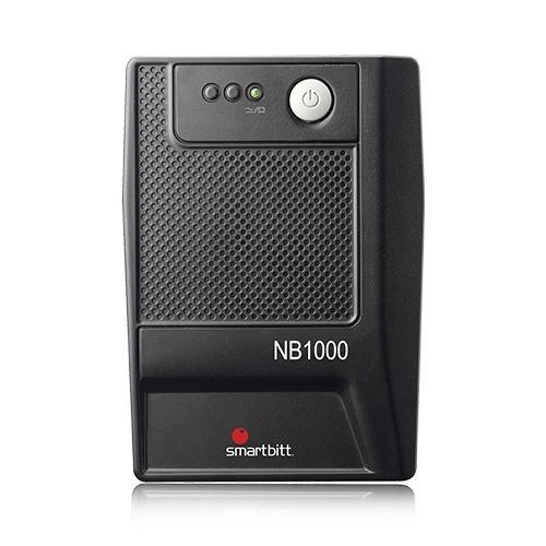 No Break Smarbitt NB1000, 500W, 1000VA, Entrada 81-145V, Salida 108-132V, 6 Contactos