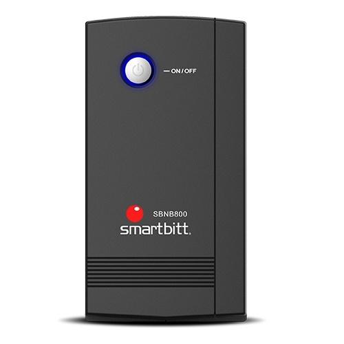 No Break Smartbitt SBNB800, 400W, 800VA, Entrada 82V - 148V, Salida 100V - 120V, 6 Contactos