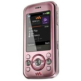 Sony Ericsson W395, 176 x 220 Pixeles, Rosa