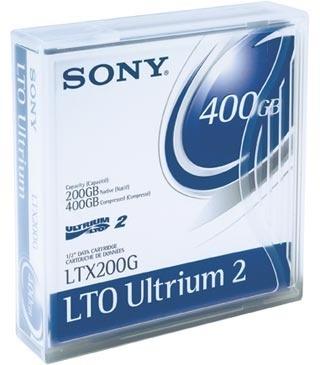 Sony Soporte de Datos LTO Ultrium 2, 200/400GB, 609 Metros