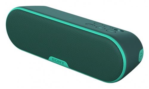 Sony Bocina Portátil SRS-XB2, Bluetooth, Inalámbrico, 2.0, USB 2.0, Verde - Resistente al Agua