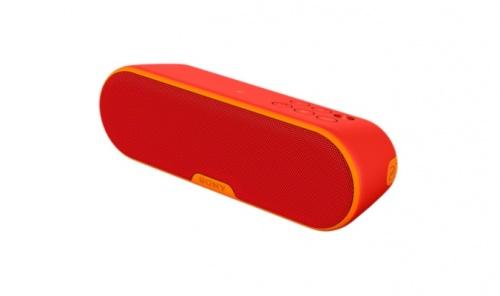 Sony Bocina Portátil SRS-XB2, Bluetooth, Inalámbrico, 2.0, USB 2.0, Rojo