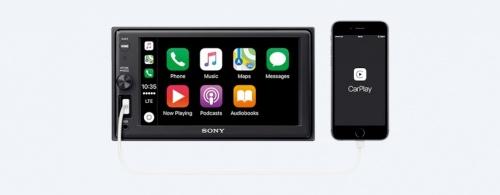 Sony Autoestéreo 220W, Bluetooth/USB, Negro, XAV-AX1000