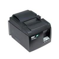 Star Micronics TSP143L GRY US, Impresora de Etiquetas, Térmica Directa, Ethernet, 203DPI, Negro/Gris - con Autocortador