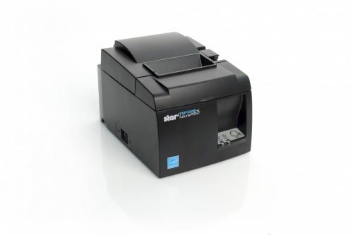 Star Micronics TSP143IIIBI GY US, Impresora de Tickets, Térmica Directa, 203 x 203 DPI, Negro