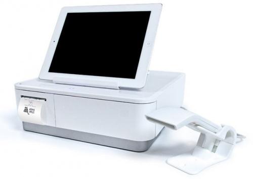 Star Micronics Sistema POS con Impresora mPOP, Térmica Directa, Inalámbrico, Bluetooth, Blanco