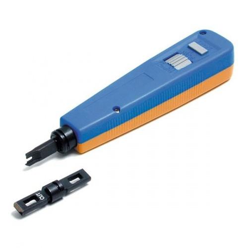 StarTech.com Pinza Crimpeadora 110PUNCHTOOL, Azul/Amarillo