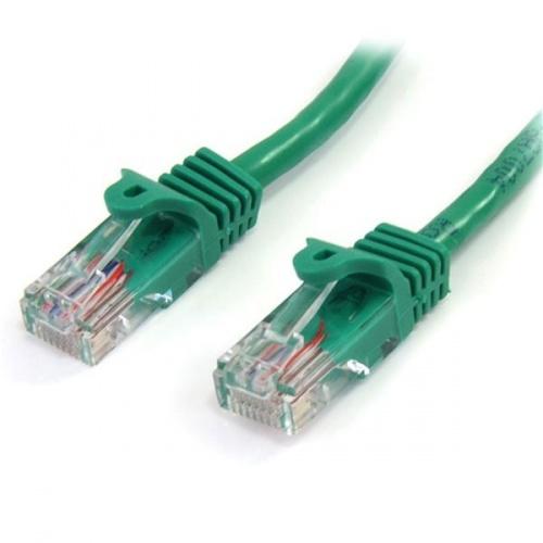 StarTech.com Cable Patch Cat5e UTP sin Enganches RJ-45 Macho - RJ-45 Macho, 2 Metros, Verde