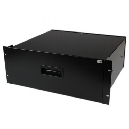 StarTech.com Cajon Metálico Acero para Rack Armario Gabinete Bastidor 19'', 4U