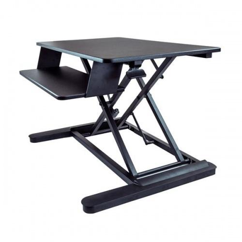 """StarTech.com Estación de Trabajo de Pie y Sentado para Monitor 24"""", max. 25.4kg"""