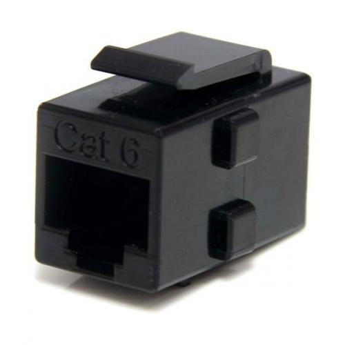 StarTech.com Conector Cat6 RJ-45, Negro, 1 Pieza