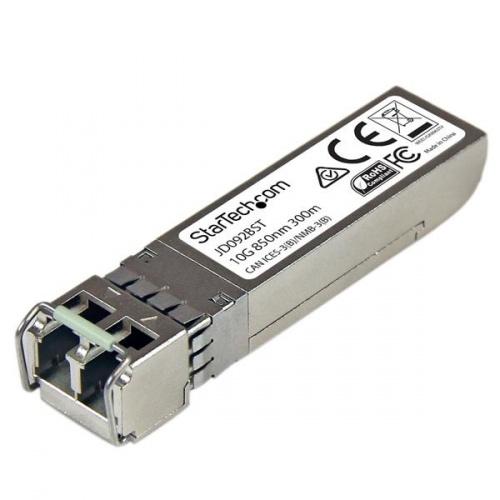 StarTech.com Gigabit Módulo Transceptor de Fibra SFP+, LC, 300m, 850nm, Multimodo, para HP JD092B