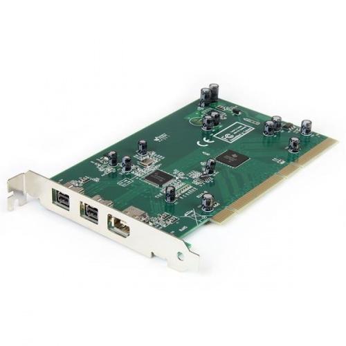 StarTech.com Tarjeta PCI PCI1394B, Alámbrico, con 3 Puertos FireWire
