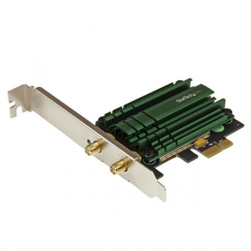 StarTech.com Tarjeta de Red PEX867WAC22 de 1 Puerto, 867 Mbit/s, PCI-E