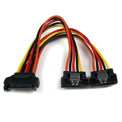 StarTech.com Cable Adaptador Splitter Divisor de Alimentación SATA, 15cm