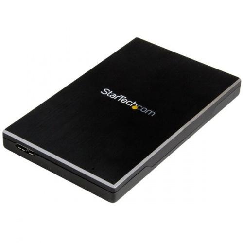StarTech.com Gabinete de Disco Duro S251BMU313, 2.5'', SATA III, USB 3.1, Negro