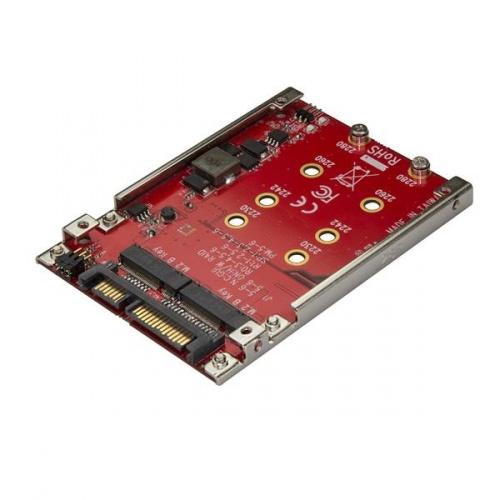"StarTech.com Adaptador para Unidad de Disco M.2 - SATA para Bahía de 2.5"""